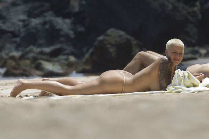 Amber Rose Topless 09 TheFappening.nu