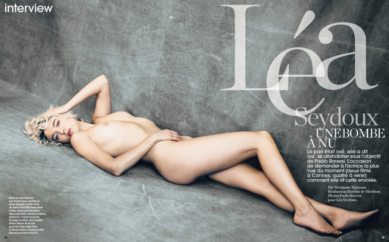 Lea Seydoux Naked 01 TheFappening.nu